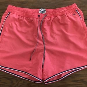 Tommy Jeans Pink Summer Running Shorts